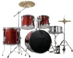 5 pcs  drum set