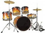 Lacquer High-grade Drum set